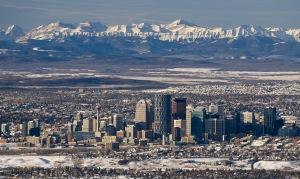 Calgary skyline 2012