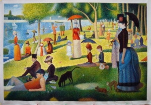 A Sunday Afternoon on the Island of La Grande Jatte by Seurat.