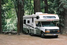 An RV like the one we went to the Grand Canyon in.